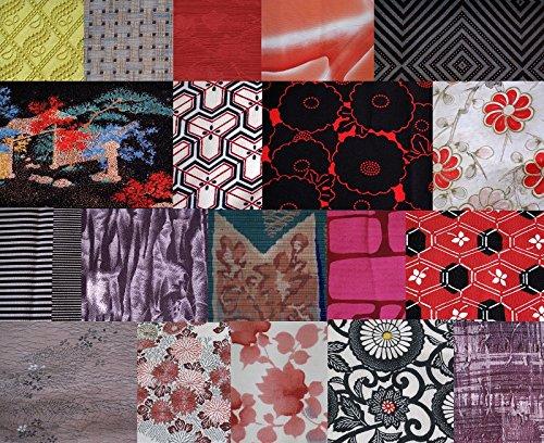 Vintage Japanese Fabric - 1lb Mix - Remnant Bundle