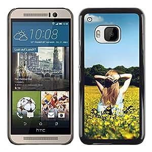 Dragon Case - FOR HTC One M9 - no words are spoken - Caja protectora de pl??stico duro de la cubierta Dise?¡Ào Slim Fit