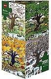 Heye - Heye-29340 - Puzzle Classique - 4 Seasons - Blachon - 2000 Pièces