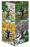 Heye 4 Seasons 2000 Piece Roger Blachon Jigsaw Puzzle