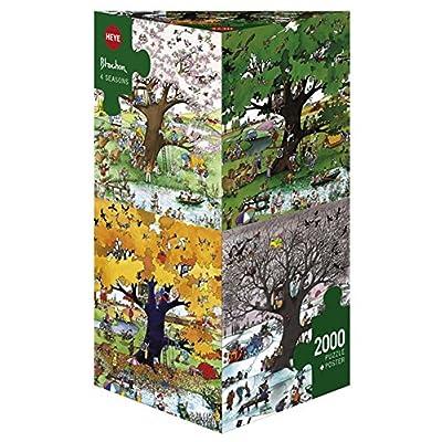 Heye Verlag 29340 Blachon 4 Seasons Puzzle Da 2000 Pezzi