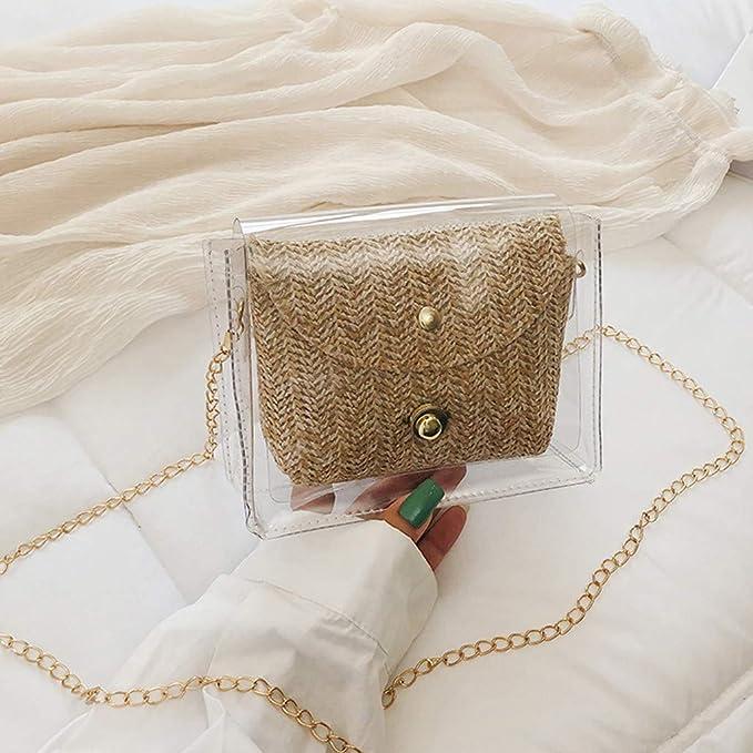 Bolso Bandolera de Jalea de Color sólido de Moda para Mujer ...