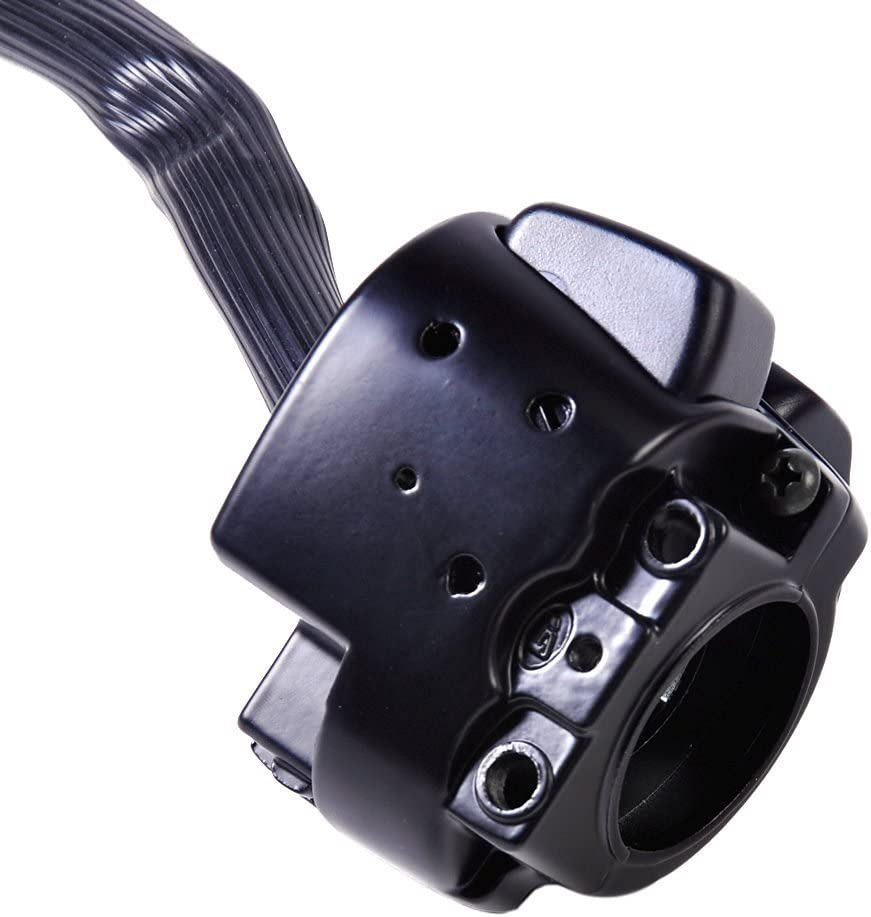 /2012/Harley Softail Dyna Sportster ICT Valvetronix Pair 25/mm Motorcycle Horn Flasher Switch Handlebar Horn Control Switch for 1996/ V Rod