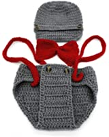 Vovotrade® Neonato Bambina Bambino Crochet Knit Costume Foto Prop Fotografia Outfits