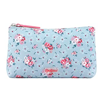21b2ca012ef3c CATH KIDSTON Fresh Blue Lucky Bunch Matt Zip Make Up Bag: Amazon.co ...