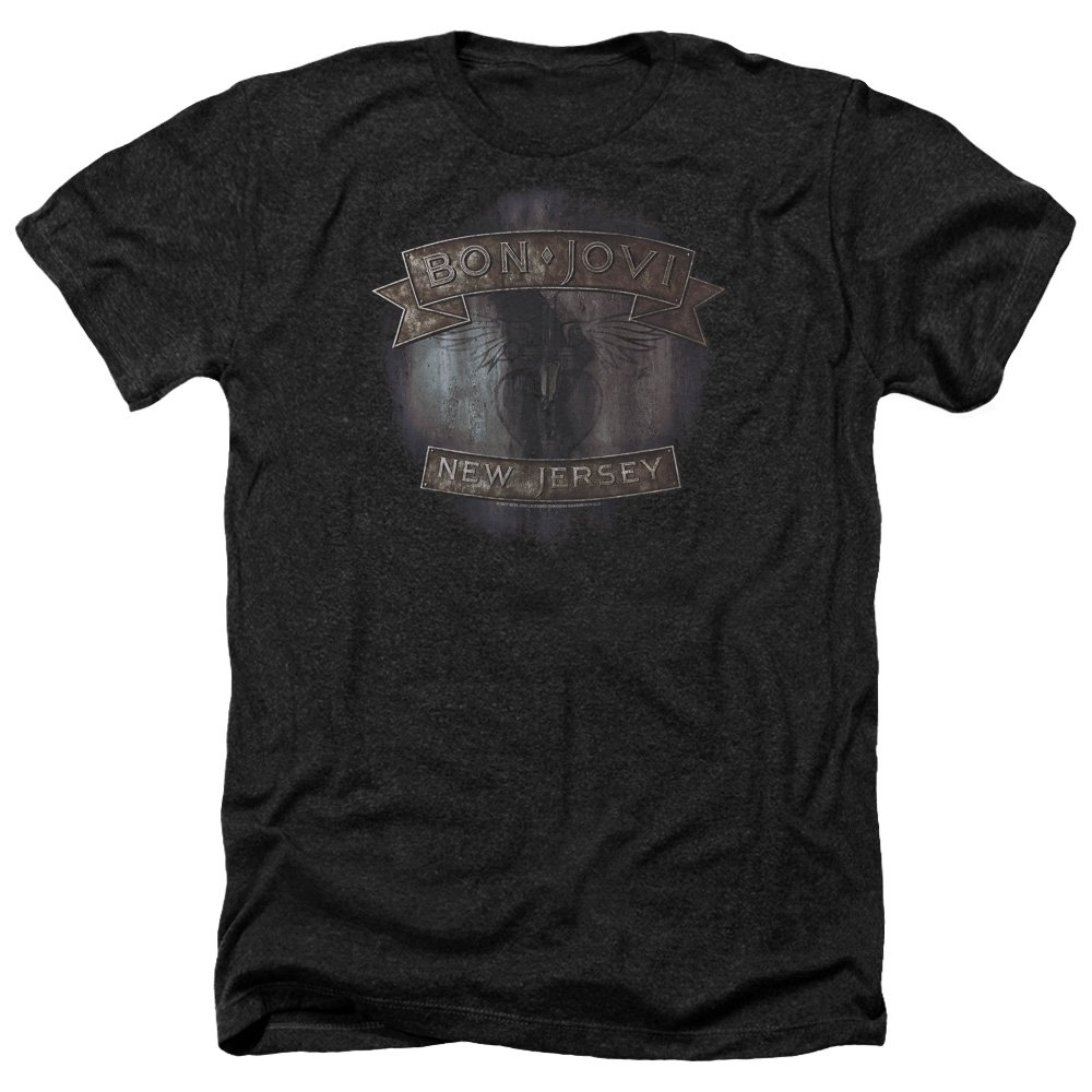 Bon Jovi New Heather Soft T Shirt 2486