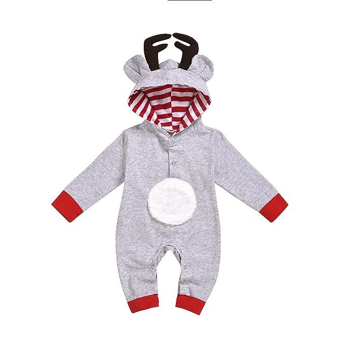Amazon.com: Traje de invierno con capucha para recién nacido ...