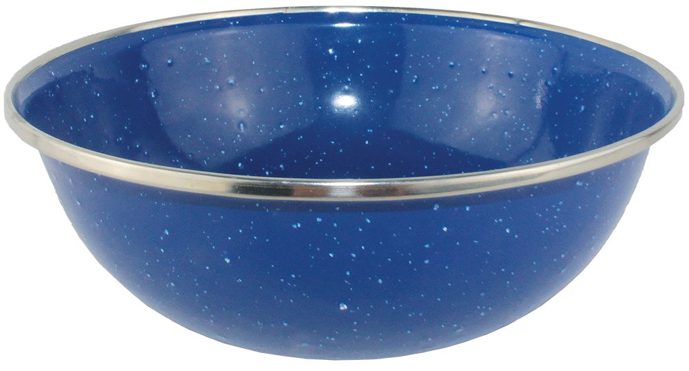 Yellowstone Enamel Bowl - Multi-colour, 15cm