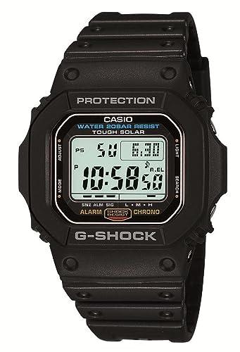 Casio G 5600E 1JF G SHOCK Tough Solar reloj: .mx