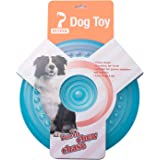 Petper Dog Flying Disc Toy, Dog Frisbees Durable Pet Toy 9""