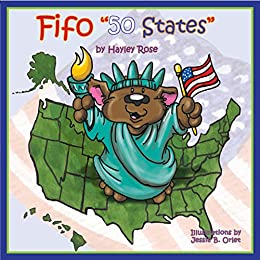 Fifo 50 States (Fifo the Bear) by [Rose, Hayley]