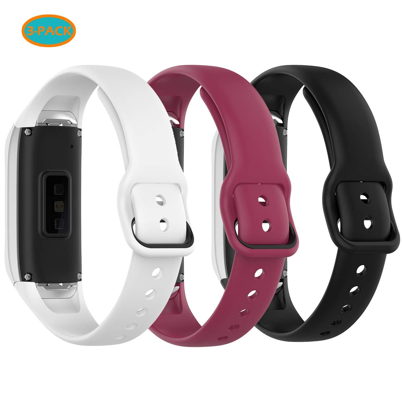 Malla Para Reloj Samsung Galaxy Fit Sm-r370 (3 Unidad (tfnn)