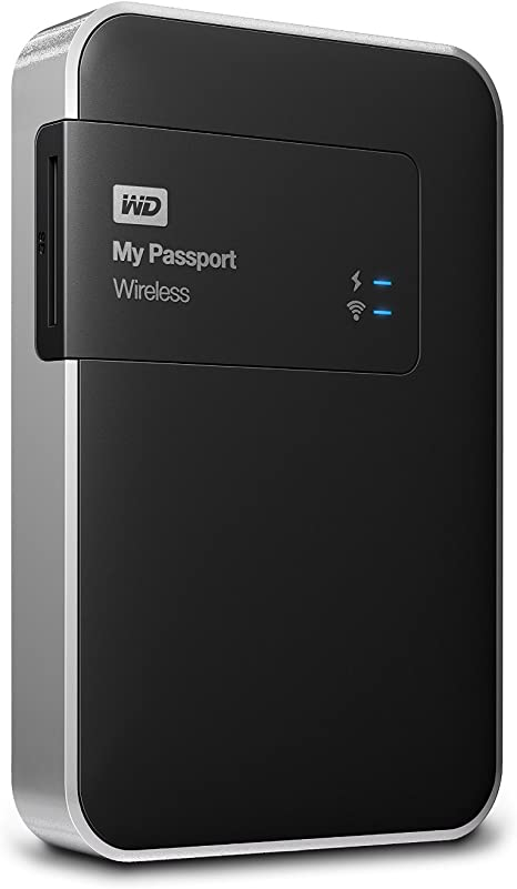 WD My Passport Wireless - Disco Duro Externo portátil de 1 TB (Wi ...