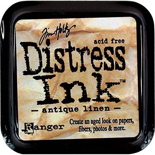 (Ranger Tim Holtz Distress Ink Pad - Antique Linen)