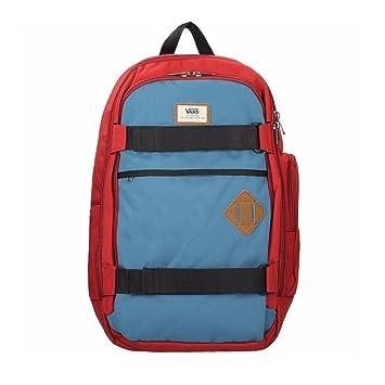 Mochila Vans - Transient III Sk8Pack rojo/azul: Amazon.es: Deportes y aire libre