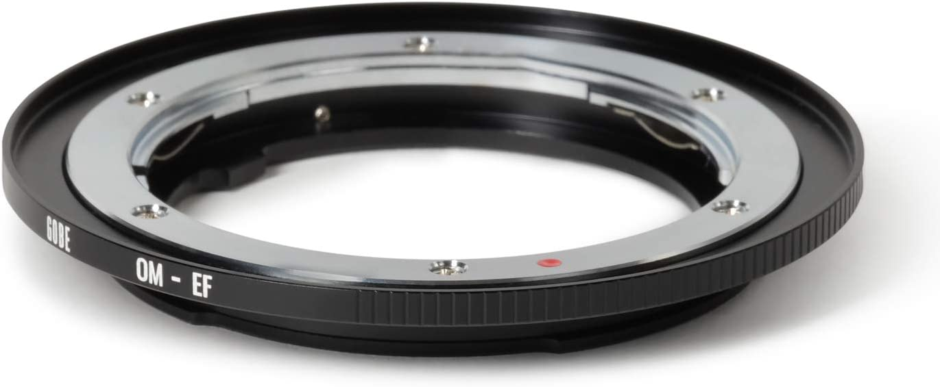 Camera Body Gobe Lens Mount Adapter EF//EF-S Compatible with Olympus OM Lens and Canon EOS