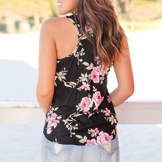Tops,❤️Ba Zha Hei Camiseta estampada para mujer Moda mujers Impresión de flores de impresión camisetas camiseta de manga corta blusa Tops de talla grande ...
