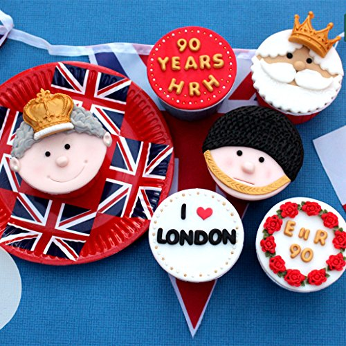 "Efivs Arts Crowns Form Princess Queen 3D Silicone Mold Fondant Mold Cupcake Cake Decoration Tool 3.3"""