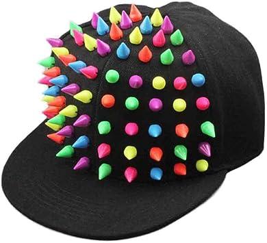 Xinantime Sombrero, Rivet Gorra de Beisbol Hip-Hop Niños Niñas ...