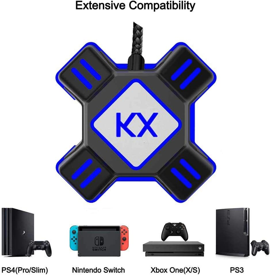 PS3 Codream Keyboard and Mouse Converter Adapter for PS4 Xbox One Switch