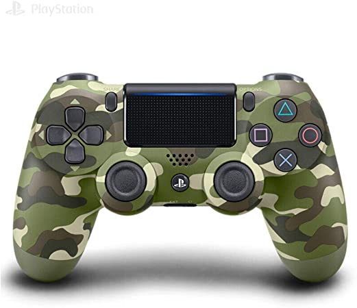 LUOLIN Controlador inalámbrico DualShock 4 para Playstation 4-camouflagegreen: Amazon.es: Electrónica