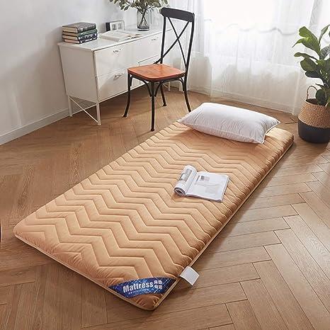 Amazon.com: Colchón japonés Tatami, grueso, suave, acolchado ...