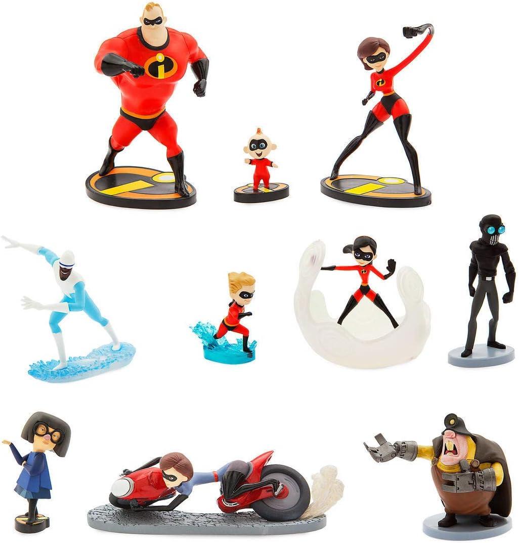 Amazon Com Disney Pixar Incredibles 2 Deluxe Figure Set Toys Games