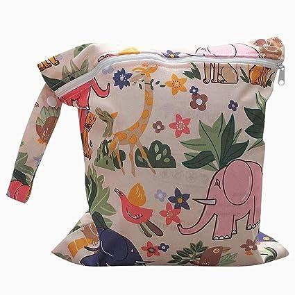 bolsa de pañales, toallitas iSuper bolsa de pañales reutilizables organizador del bolso bolsa de pañales