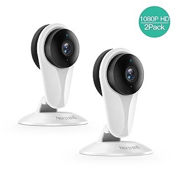 SMONET - Cámara de vigilancia WiFi con visión Nocturna ...