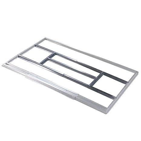 Estructura metálica Gardiun para preinstalación de suelo casetas de 2,4 m2 - KIS14005 -