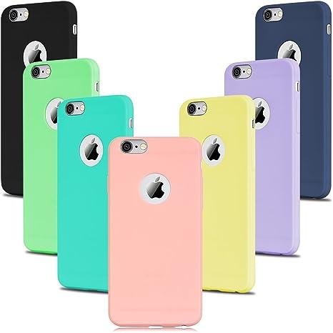 Custodia per Apple iPhone 5S 5 flessibile AZZURRA Cover Sottile