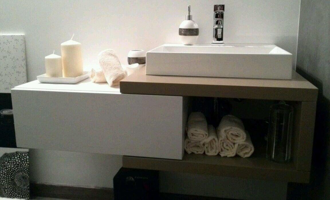 ARTIMODE made in Italy MOBILE BAGNO 100x35x25: Amazon.it: Casa e cucina