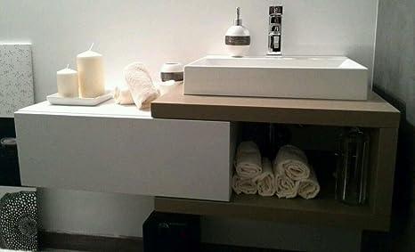 Artimode Made In Italy Mobile Bagno 100x45x30 Amazon It Casa E Cucina
