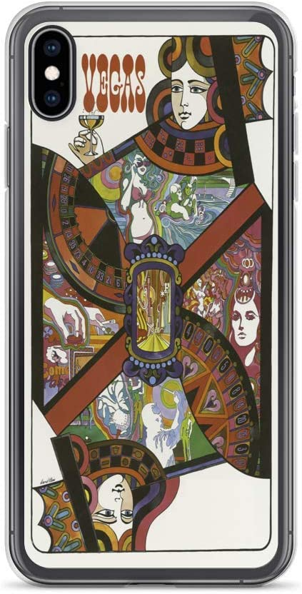 Amazon Com Vintage Poster Las Vegas 1744 Iphone Xs Max Phone Case