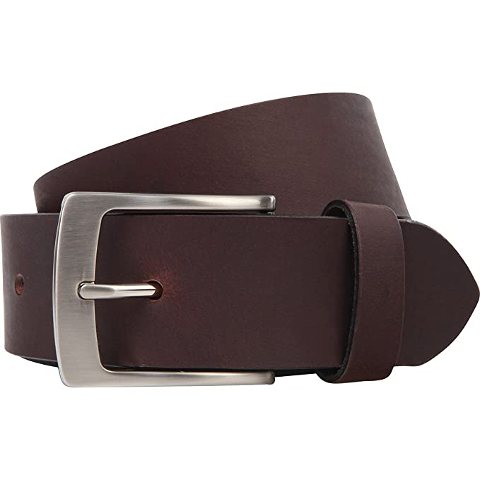Lindenmann Mens leather belt Mens belt, full grain leather belt XXL, 2  Colors b9c53b6f6ab