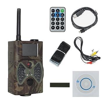 Cámara de caza vigilancia con infrarrojos para pantalla LCD 12 Mpx, HD, IR 1080P