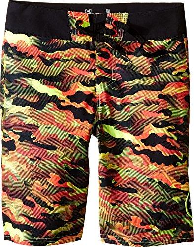 Under Armour Kids Boy's UA Barrel Boardshorts (Big Kids) Fuel Green Board Shorts 27