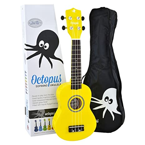 Ukelele soprano de iniciación Octopus