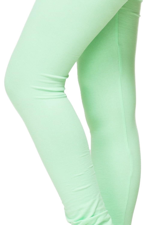 tsg breeze cotton churidar leggings pista green colour free size