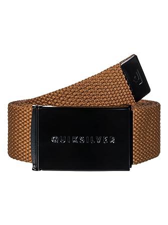 Quiksilver Principle III Cinturón, Hombre, Marrón (Cathay Spice), (Tamaño del Fabricante:One Size)