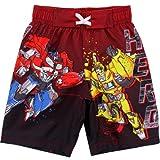 Transformers Boys Red Swim Trunks Swimwear
