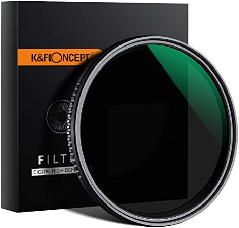 K&F Concept 49mm Filtro Variable ND8-ND2000 Slim MRC 18 Capas para ...