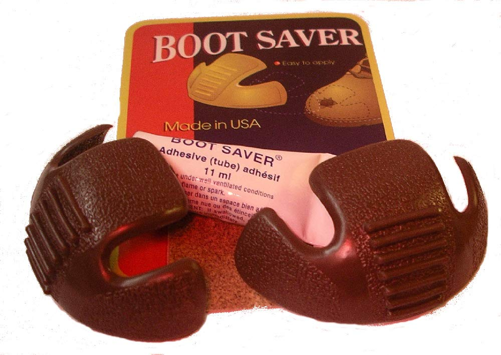Boots Saver Toe Guards (4 Pair, Tan) by Boots Saver