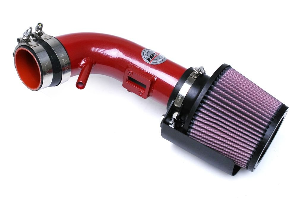 HPS 27-546R Red Shortram Air Intake Kit with Heat Shield Cool Short Ram SRI