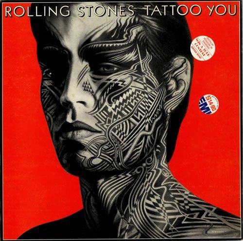 Original album cover of Tattoo You LP (Vinyl Album) UK Rolling Stones 1981 by The Rolling Stones