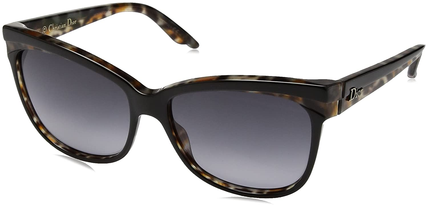 8f66409c905 Amazon.com  Christian Dior Wildly Dior S Sunglasses Havana Black Havana Blue  Avio  Clothing