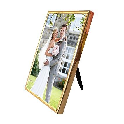Amazon.com: Photo Frames 8x6/15x20cm Picture Frames Metal Photo ...