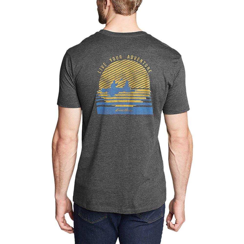 Setting Sun Eddie Bauer Mens Graphic T-Shirt