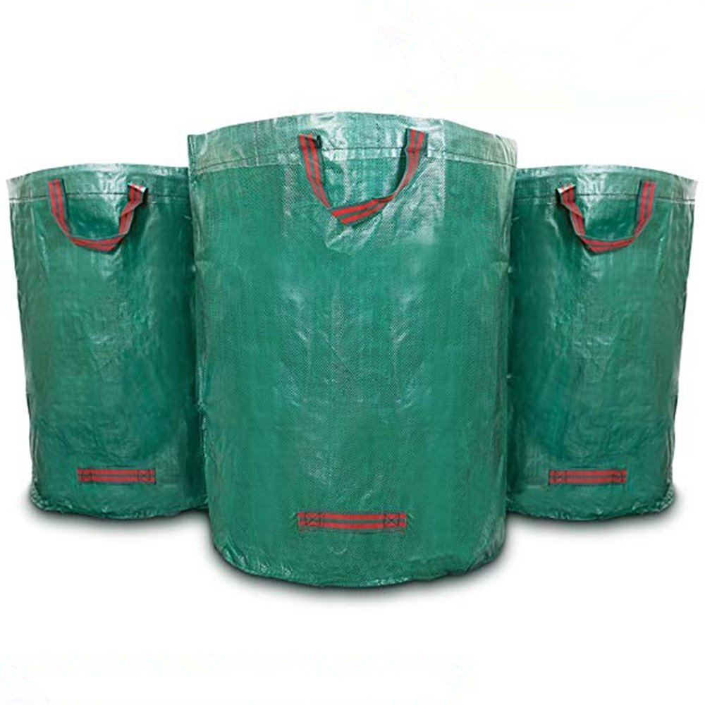 AIYIOUWEI Pack of 3 Large 272L Garden Waste Bags (H76 cm, D67 cm)