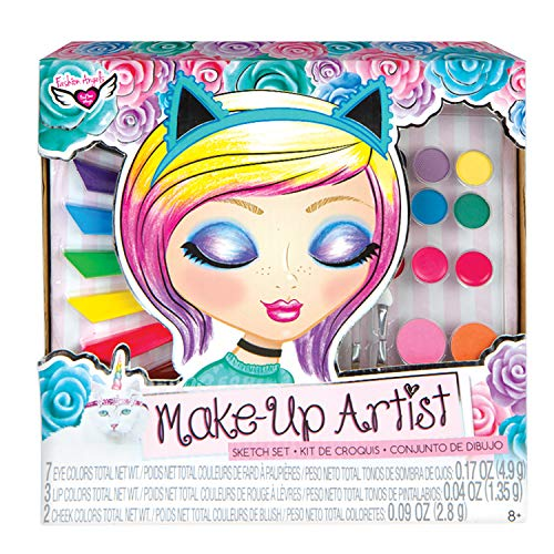 Fashion Angels 12169 Unicorn Magic Make-Up Artist Sketch Set, -